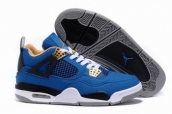free shipping wholesale jordan 4 shoes canvas