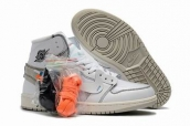 off-white air jordan 1 shoes aaa aaa wholesale from china online