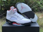 free shipping wholesale nike air jordan 5 shoes top quality